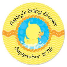 yellow duck baby shower home decorating interior design bath