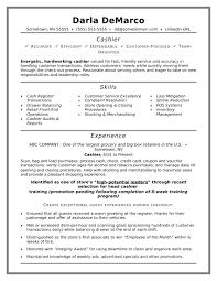 exle of resume objective resume sles cashier sle resume for cashier beautiful resume