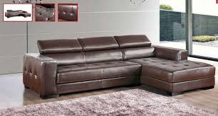 Leather Tufted Sectional Sofa Brilliant Sectional Sofas With Recliners And Chaise 46 Leather