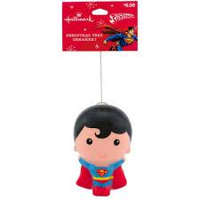 hallmark dc comics superman decoupage ornament walmart