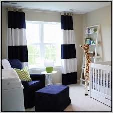 Black And White Striped Bedroom Curtains Diy Navy And White Striped Curtains Integralbook Com