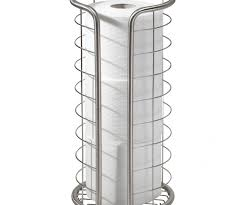 sleek chrome freestanding toilet roll her stand up toilet paper