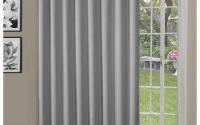 Home Classics Blackout Curtain Panel Curtains Home Classics Ethan Striped Blackout Patio Door Curtain