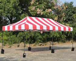 Canopy Photo Booth by Abccanopy Carnival 10x20 Red With White Walls Pop Up Tent Trade