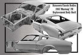 1965 mustang sheet metal mustang replacement shells by dynacorn
