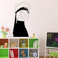 popular decal wall japanese buy cheap decal wall japanese lots naruto wall decal japanese manga wall vinyl sticker anime style home interior removable decor custom decals