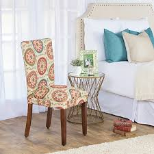Orange Parsons Chair Watercolor Paisley Parsons Chair Kirklands