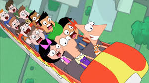 phineas and ferb rollercoaster phineas and ferb wiki fandom powered by wikia