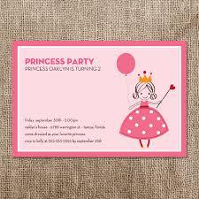 princess party invitations princess party invitations with stylish