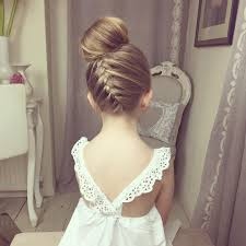 wedding hairstyles for little girls best photos page 3 of 5