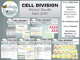 cell division meiosis test review questions and answer keys by