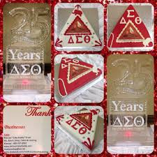 delta sigma theta arlington alumni chapter 25th anniversary cakes