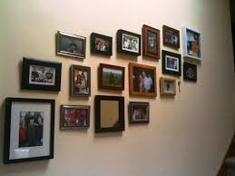 wall decor ideas by using frames wall hanging photo frames designs