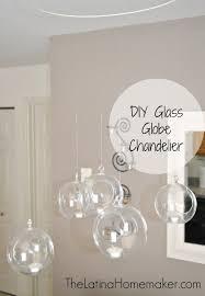 Globes For Chandelier Glass Globe Chandelier