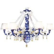 Blue Delft Chandelier Delft Blue Chandelier By Marcel Wanders At 1stdibs