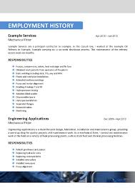 resume cv cover letter example of 8 9 examples for college