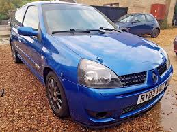 clio renault 2003 2003 renault clio sport 172 cup 2 0 petrol manual road legal track