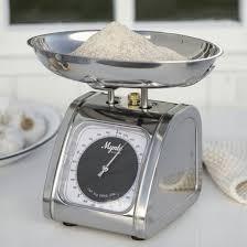 balance de cuisine retro balance de cuisine vintage toute inox 5kg decoclico