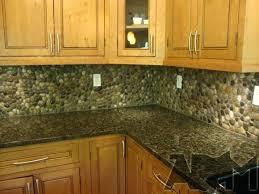natural stone kitchen backsplash stone kitchen backsplash river pebbles via natural stone kitchen