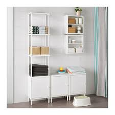 Shelving Units For Bathrooms Dynan Shelving Unit With 3 Cabinets Ikea