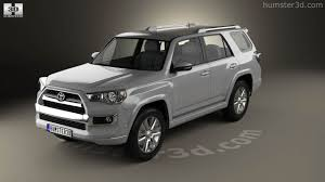 toyota limited 360 view of toyota 4runner limited 2016 3d model hum3d store