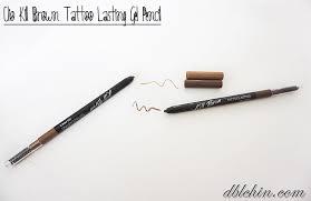 clio tattoo eyebrow pen make review clio kill brown collection dblchin com