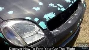 correct sandpaper grit you should sand your car with before paint