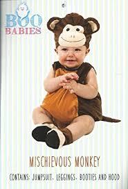 Halloween Costume Monkey Amazon Boo Babies Halloween Costume Mischievous Monkey Brown