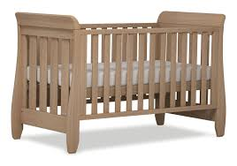 Sleigh Cot Bed Boori Urbane Sleigh Cot Bed Almond Baby Bunting