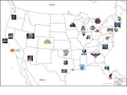 map usa nba nba location map let s play history geography