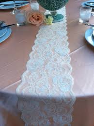 ivory lace table runner 23 best table runner images on pinterest lace table runners lace