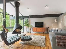 mid century modern living room ideas a stylish mid century modern makeover draws nature inside