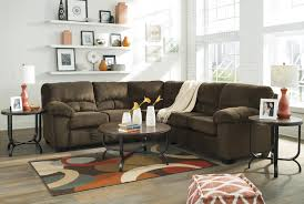 casual contemporary corner sectional by signature design by ashley