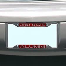 ohio alumni license plate frame ncaa ohio state buckeyes license plate frame alumni
