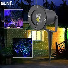 Outdoor Blue Lights Outdoor Waterproof Green Laser Projector Light Led Blue