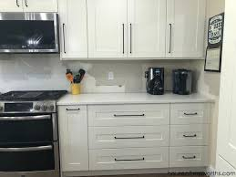 kitchen cabinet door mounting hardware how to install hardware like a pro ikea kitchen renovation