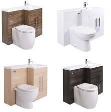 Bathroom Vanity Unit With Basin And Toilet Toilet Basin Vanity Units Ebay