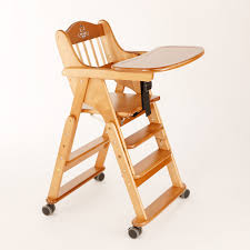 Booster Seat Dining Chair with 0 4 Years High Quality Solid Wood Foding Baby Chairs For Dining