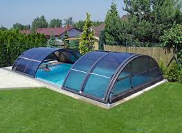 Swimming Pool Furniture by Swiming Pools Titanium Cool Pool Cover With Automated Pool Cover