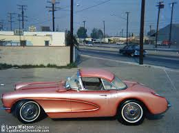 50s corvette corvette pearl salmon pink cars and trucks cars