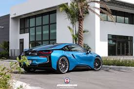 Bmw I8 Custom - photoshoot a bmw i8 equipped with hre rs103 wheels