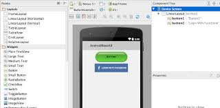 android studio button android button exle stacktips