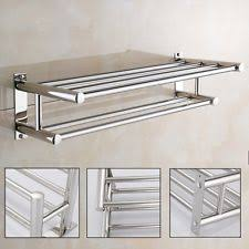 Bathroom Towel Shelves Wall Mounted Hotel Towel Shelf Ebay