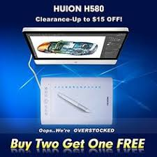 amazon black friday deals huion huion h610 pro graphic drawing tablet with carrying bag and glove