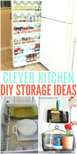 ideas for the kitchen diy storage ideas clever storage ideas for the kitchen easy diy