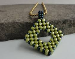 geometric beadwork etsy
