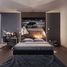 bed frames masculine bedroom paint colors cool wall art for