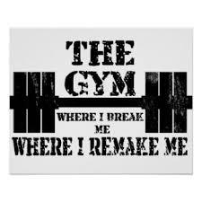 gym motivational posters zazzle