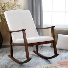 Cushions For Glider Rocking Chairs Upholstered Rocking Chair Home Design By Fuller