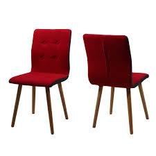 Esszimmerstuhl Eiche Leder Stuhl Frida 2er Set Retro Polsterstuhl In Stoff Beine Eiche Massiv